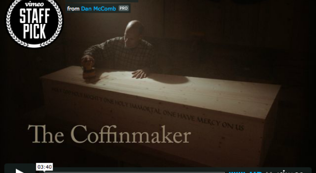 Screen grab of The Coffinmaker