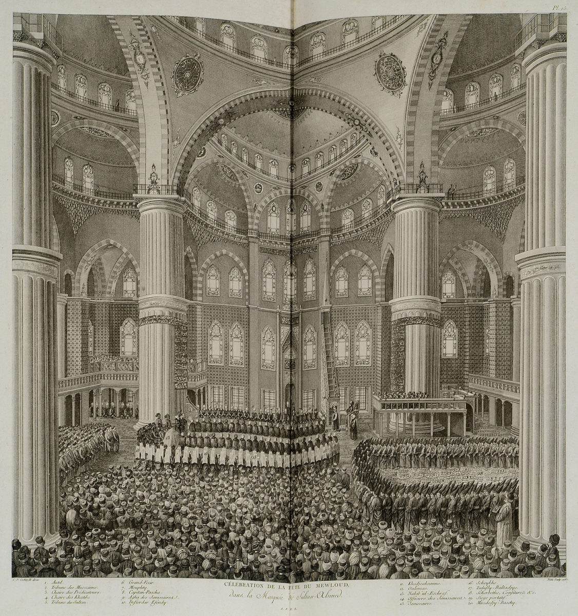 the celebration of mawlid the birthday of the prophet on being in this rendering of a scene from 1787 muslims take part in an official prayer to celebrate the birth of prophet muhammad in the presence of the sultan and