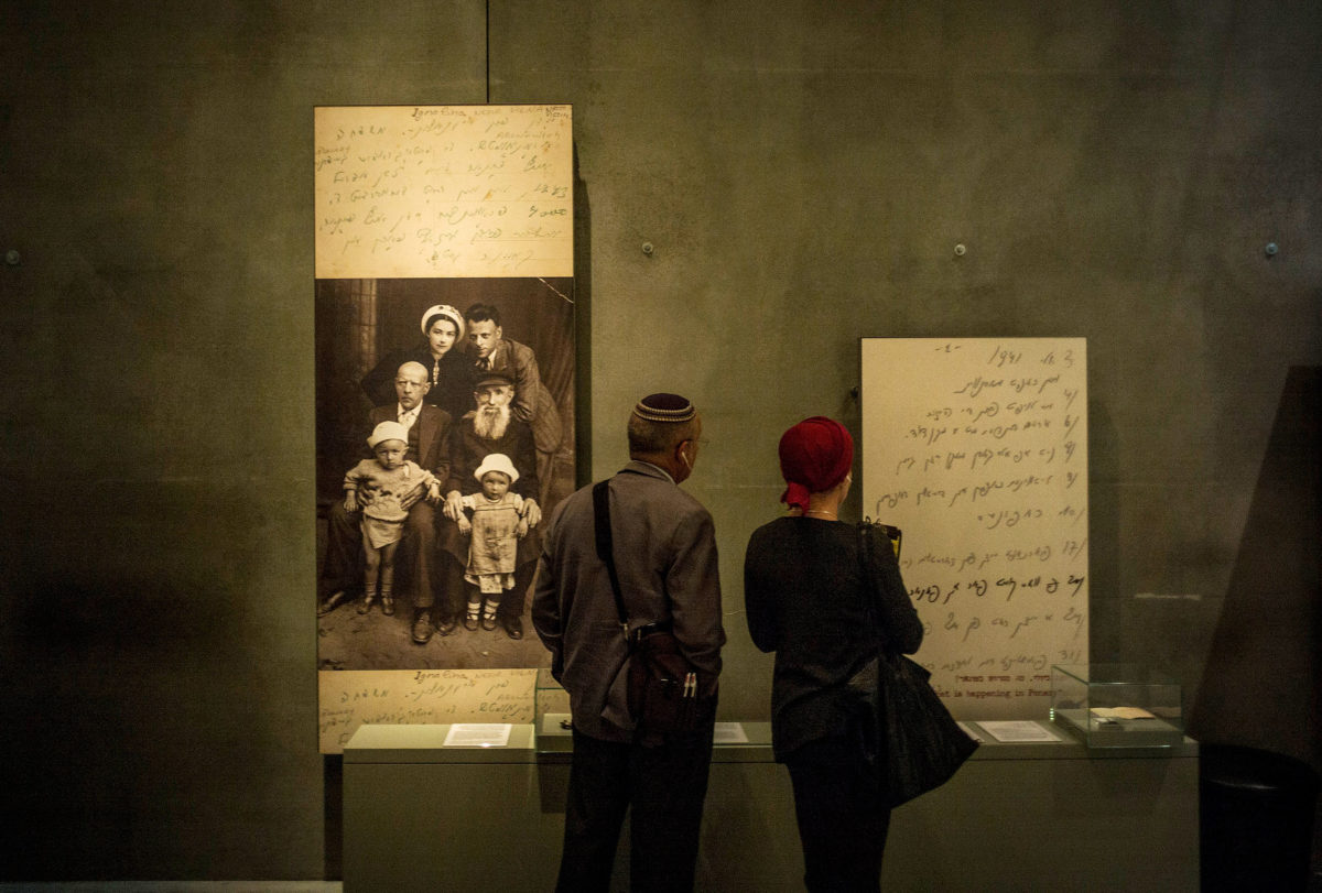 a suppler heart einstein essay erupts online mea culpa mom people the yad vashem museum to commemorate international holocaust day in jeru m ilia yefimovich getty images